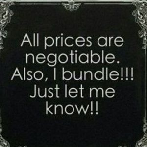 Accepting ALL reasonable offers!!